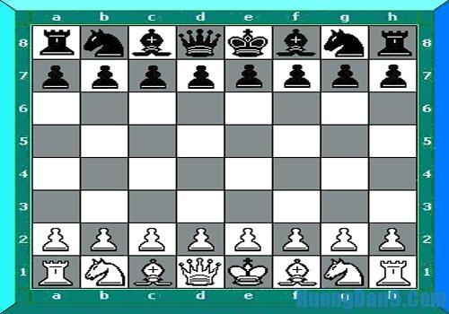 Cách xếp bàn cờ vua, hướng dẫn xếp bàn cờ vua
