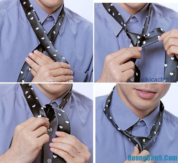 Cách thắt cà vạt vô cùng đơn giản
