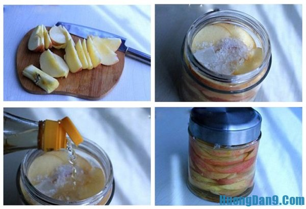 Hướng dẫn cách làm giấm táo ngon tại nhà