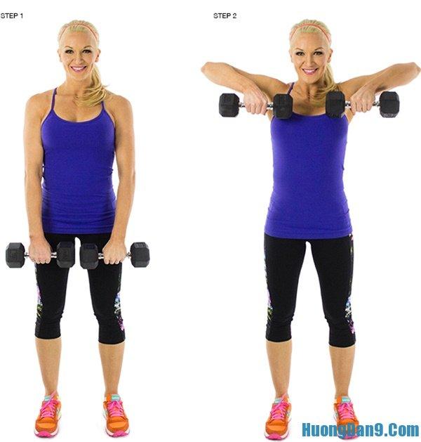 Thực hiện các bước luyện tập giúp giảm cân nhanh