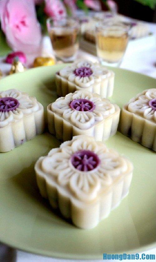 Hướng dẫn các bước làm bánh dẻo nhân khoai lang tím hấp dẫn, thơm ngon cho người mới làm