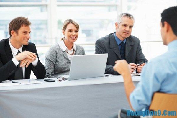 Hướng dẫn trả lời phỏng vấn xin việc bằng tiếng Anh