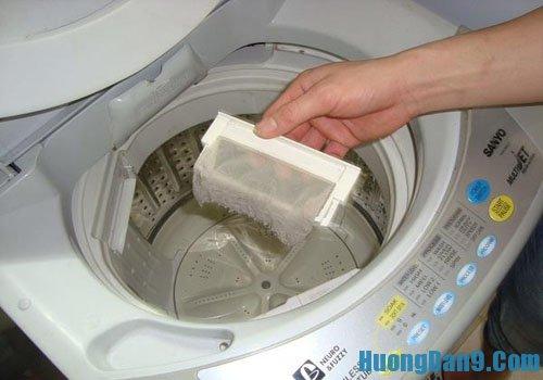 Các bước làm sạch lồng giặt loại bỏ vi khuẩn