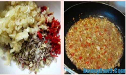 Hướng dẫn chi tiết cách pha nước chấm cho món lẩu bò nhúng giấm