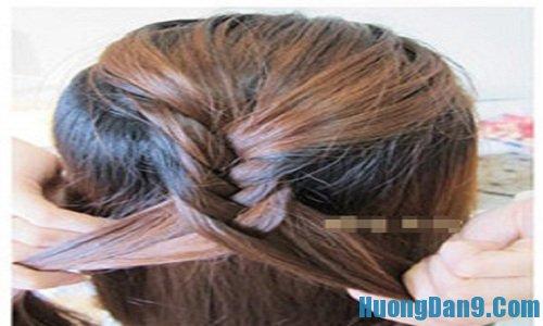 Hướng dẫn cách tết tóc gắn nơ đẹp, quyến rũ cho bạn gái
