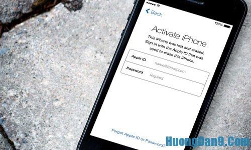 Cần kiểm tra icloud trước khi mua điện thoại iphone cũ