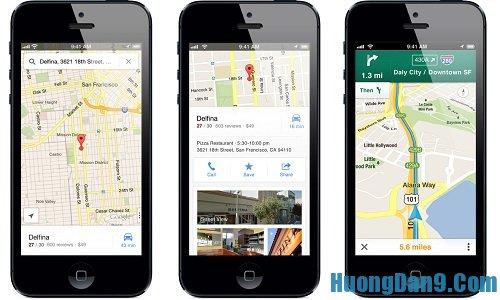 Sử dụng bản đồ ngoại tuyến giúp tiết kiệm 3G trên điện thoại iPhone