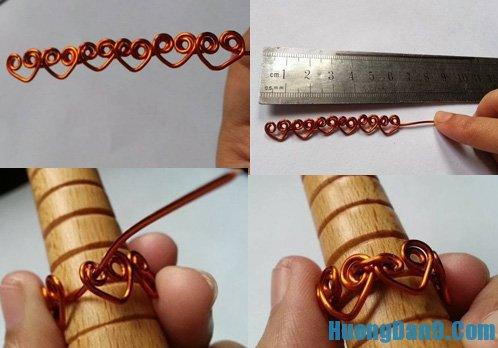 Hướng dẫn làm nhân handmade bằng dây đồng