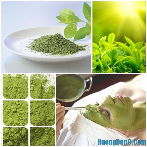 Hướng dẫn cách sử dụng bột trà xanh làm đẹp