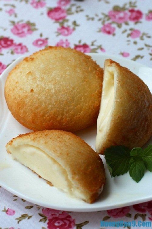Yêu cầu thành phẩm và hướng dẫn cách thưởng thức món kem chiên thơm ngon, giòn tan tại nhà