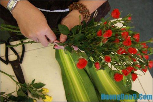 Hướng dẫn nguyên tắc cắm hoa cơ bản