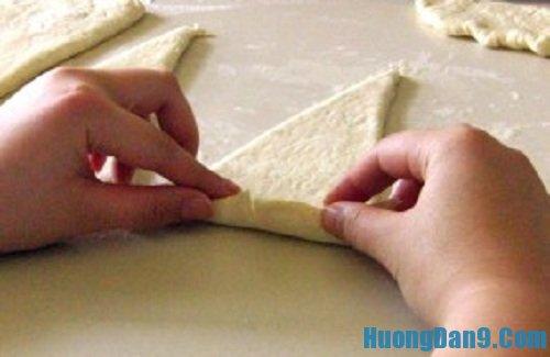 Các bước hướng dẫn cách làm bánh mì ngọt sừng trâu thơm ngon