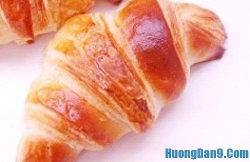 Hướng dẫn cách làm bánh mì ngọt sừng trâu tại nhà