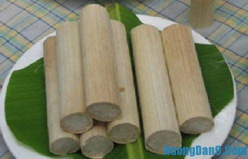 Hướng dẫn cách làm cơm lam thơm ngon, đặc sản vùng tây bắc cho gia đình