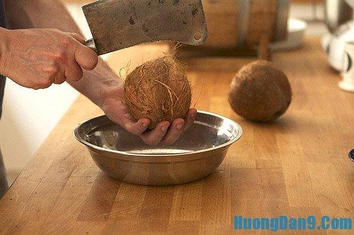 Thực hiện cách làm nước cốt dừa