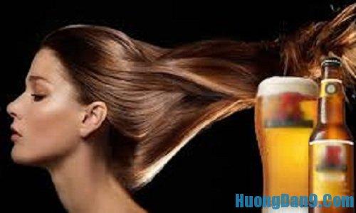 Hướng dẫn cách dưỡng tóc bằng bia