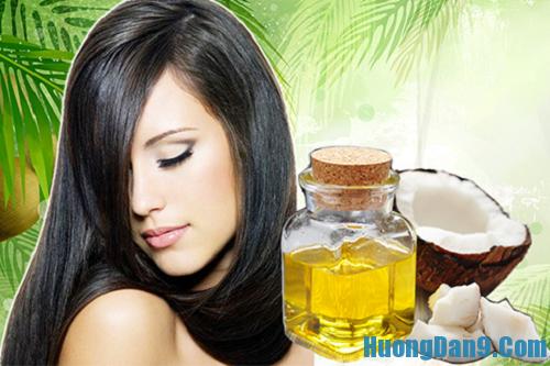 Hướng dẫn cách dưỡng tóc bằng dầu dừa