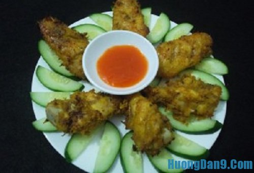 Hướng dẫn cách làm cánh gà nướng sa tế thơm ngon