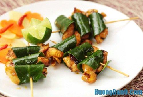 Hướng dẫn cách làm gà nướng lá chanh cực thơm ngon