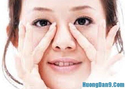 Hướng dẫn cách trị nghẹt mũi bằng cách bấm huyệt