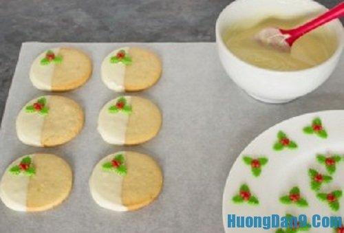 Các bước hướng dẫn cách làm bánh quy gừng