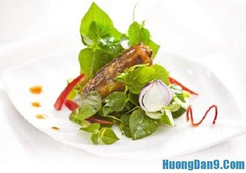 Hướng dẫn cách làm rau càng cua trộn cá mòi đơn giản