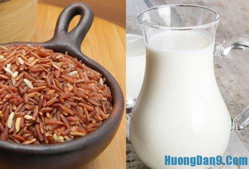 Hướng dẫn cách làm sữa gạo lứt ngon bổ dưỡng