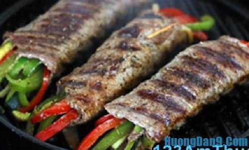 Hướng dẫn chi tiết cách làm thịt bò cuộn rau củ