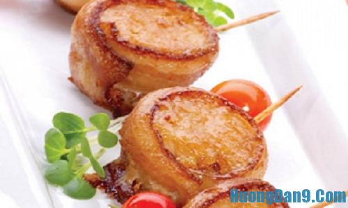 Hướng dẫn cách làm thịt xông khói cuộn dưa vàng thơm ngon hấp dẫn