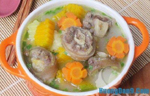 Hướng dẫn cách nấu súp đuôi bò thơm ngon tại nhà