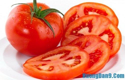 Hướng dẫn cách phục hồi làn da bị cháy cháy nắng hiệu quả với cà chua