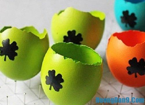 Thực hiện cách trồng cây trong vỏ trứng