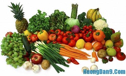 Hướng dẫn cách khử độc thuốc sâu cho rau củ quả tại nhà