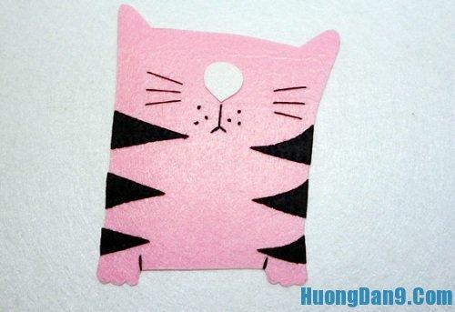 Thực hiện cách làm khung ảnh mèo tại nhà