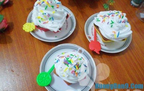Hướng dẫn cách làm bánh cupcake kem tươi cực ngon tại nhà