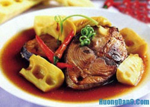 Hướng dẫn cách làm cá ngừ kho măng thơm ngon tại nhà