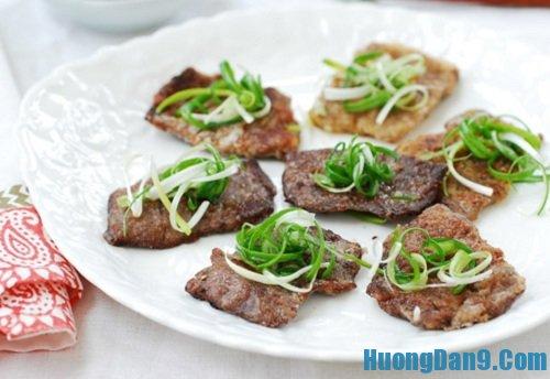 Hướng dẫn cách làm thịt bò tẩm bột chiên ngon hấp dẫn
