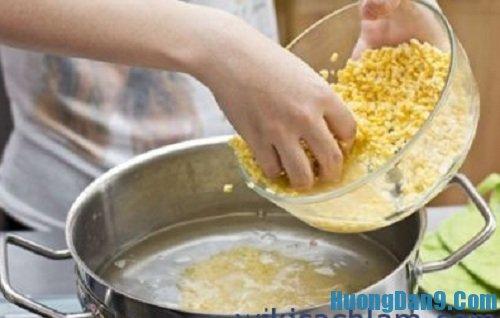 Bước hoàn thiện cách nấu chè bưởi ngon mát tại nhà