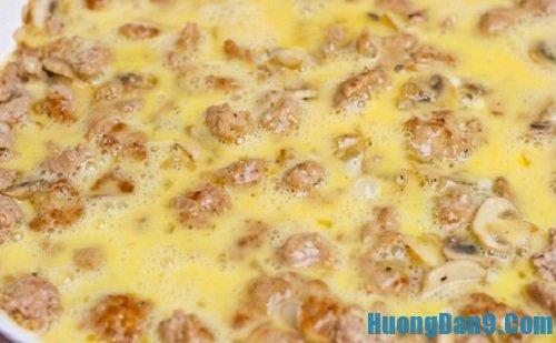 Các bước thực hiện cách làm trứng đúc thịt ngon hấp dẫn