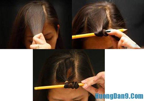 Hướng dẫn làm tóc xoăn bằng bút chì, cách làm tóc xoăn bằng bút chì