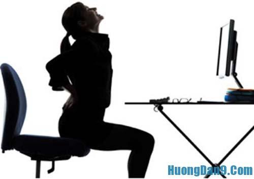 Bài tập thể dục cho dân văn phòng  giảm áp lực