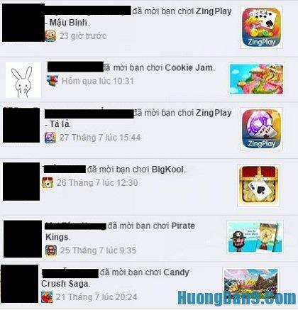 Hướng dẫn cách chặn lời mời chơi game trên facebook cực đơn giản và hiệu quả