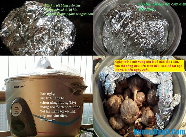 Hướng dẫn chi tiết các bước làm tỏi đen tại nhà bằng nồi cơm điện