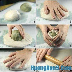 Cách làm bánh Trung Thu ngàn lớp kiểu Nhật