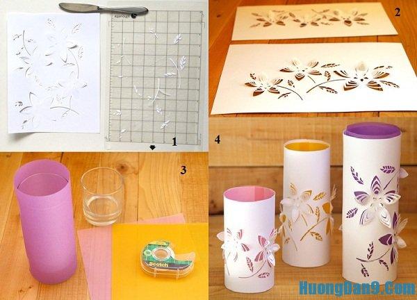 Các bước chi tiết hướng dẫn cách làm đèn giấy Kirigami đẹp, độc và đơn giản tại nhà