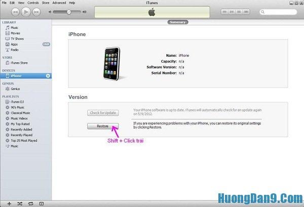 Chi tiết cách cập nhật phiên bản iOS