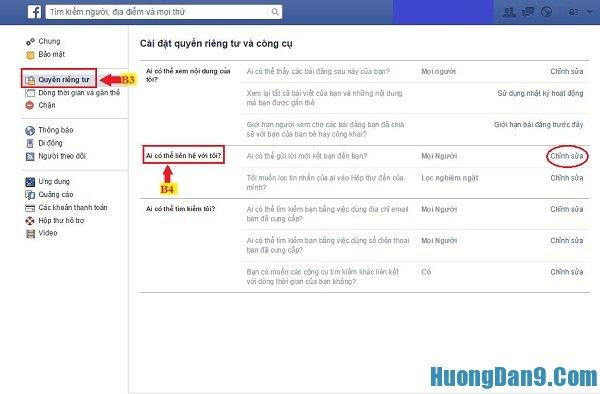 Hướng dẫn cách chặn tin nhắn spam trên facebook  siêu dễ