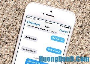 Bí quyết, hướng dẫn chi tiết cách hủy tin nhắn gửi nhầm trên Iphone 6