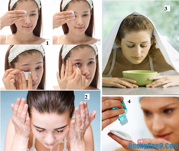 hướng dẫn cách trang điểm, tẩy trang và chăm sóc da ngày mưa