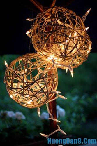 Đèn lồng bằng len thú vị cho đêm Trung Thu